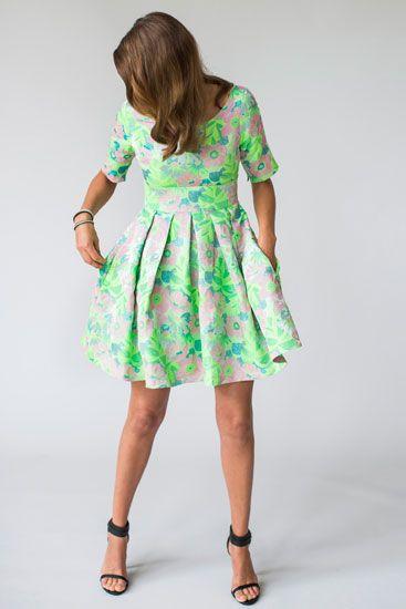 Collection Maria Westerlind spring summer 2014. Dress Sandra.