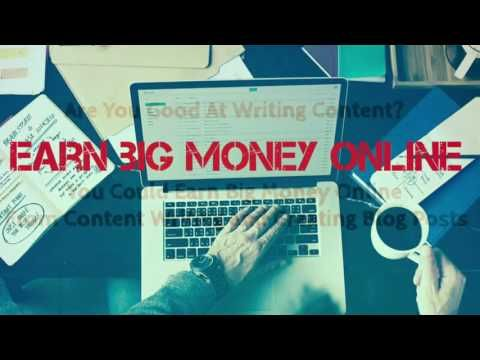 Make Money Online By Writing Content And Blogs | $100 - $200 per 2 hours |: To know the details about making money online by writing…