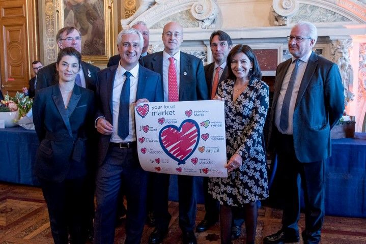 LYLM delegates with the Mayor of Paris, Anne Hidalgo