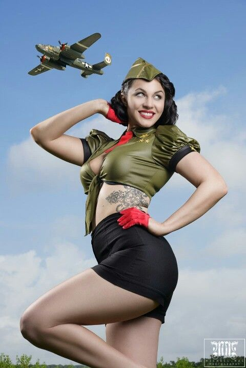 310 best military inspired pin up images on pinterest military pins pin up girls and military. Black Bedroom Furniture Sets. Home Design Ideas