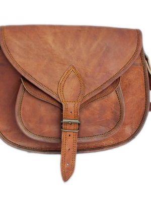 Genuine Leather Gypsy Crossbody Bag