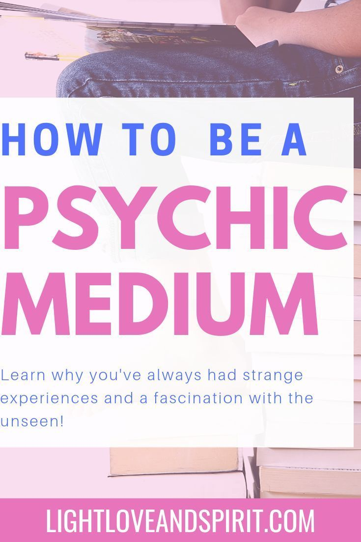 How To Become A Medium In 2020 With Images Psychic Psychic Abilities Soul Contract
