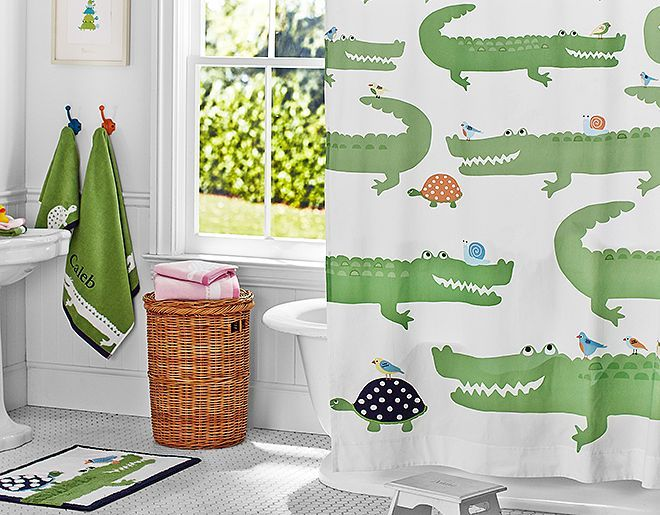 Alligator Bathroom Theme For Kids