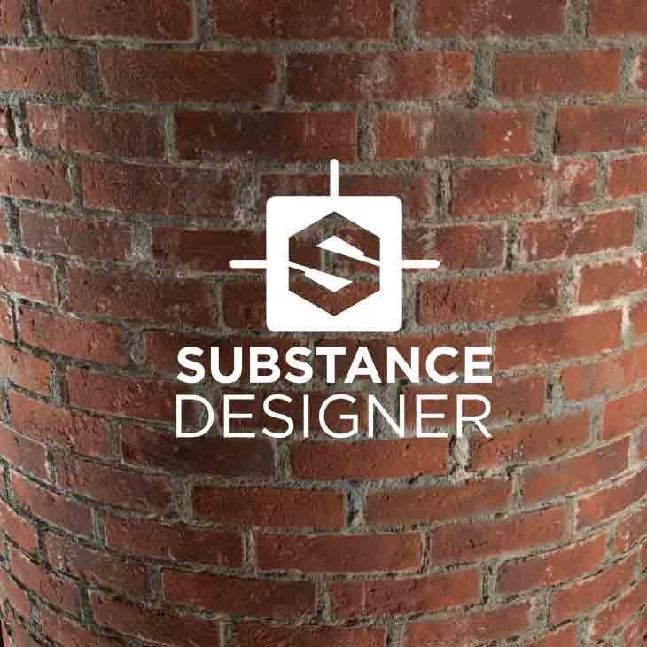 Substance: Gnomon Bricks, Tiffany Chu on ArtStation at https://www.artstation.com/artwork/GE0qB