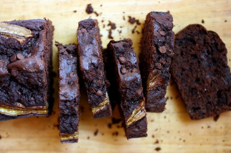 Chocolate Banana Loaf Cake! The best way to use up your ripe bananas! #recipe #snacks #nutreats