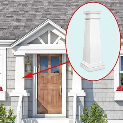 thisoldhouse.com   from Photoshop Redo: Perking Up a Plain Cape Cod (add to front porch???)