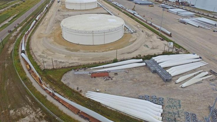 Port Corpus Christi is quietly emerging as a logistics hub for the growing wind energy industry.