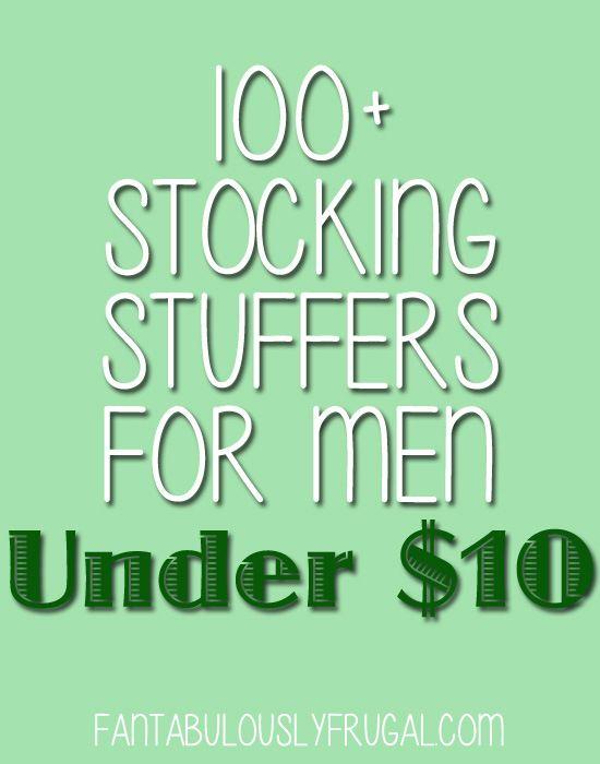 100+ Stocking Stuffers for Men Under $10