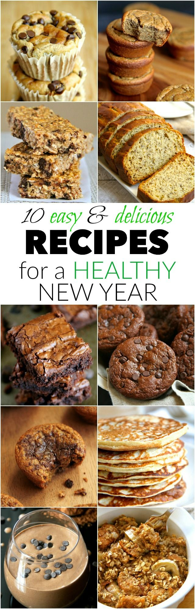 10 Easy and Delicious Recipes for a Healthy New Year | runningwithspoons.com