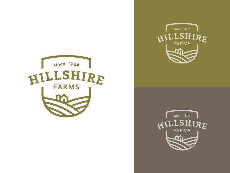 Hillshire Rebrand (for fun) by Jared Granger