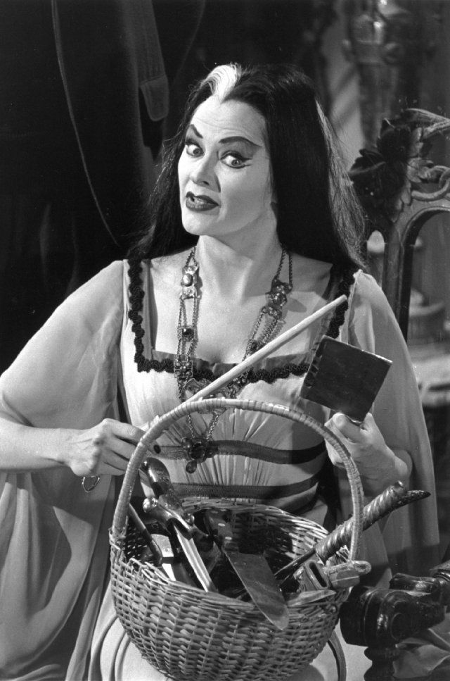 """The Munsters"" Yvonne De Carlo 1964 CBS"