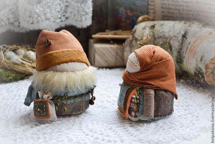 """куколки Крупеничка и Богач """"Грибная пора"""". - рыжий,крупеничка,богач,лесные жители"""