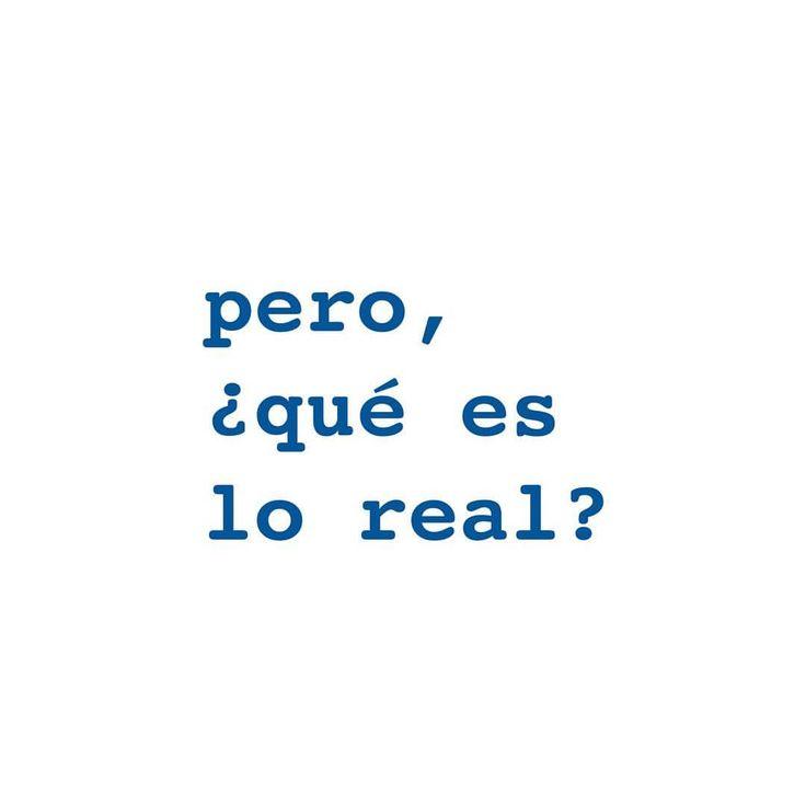 concepto de #realidad