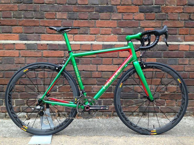 Custom Parlee Z-Zero Carbon Road Bike |