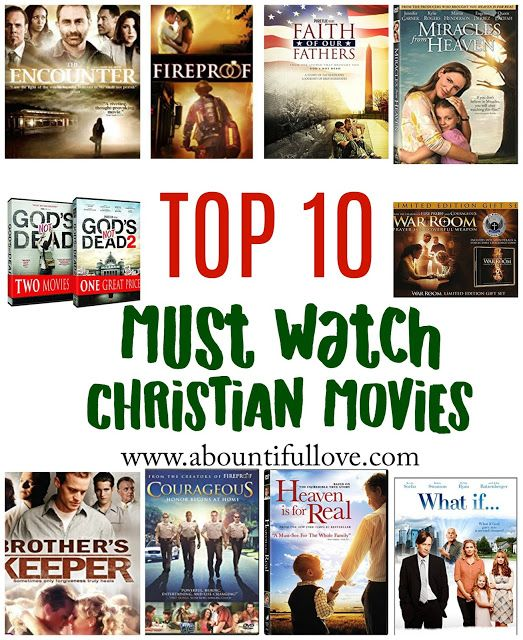 Top 10 Must Watch Christian Movies