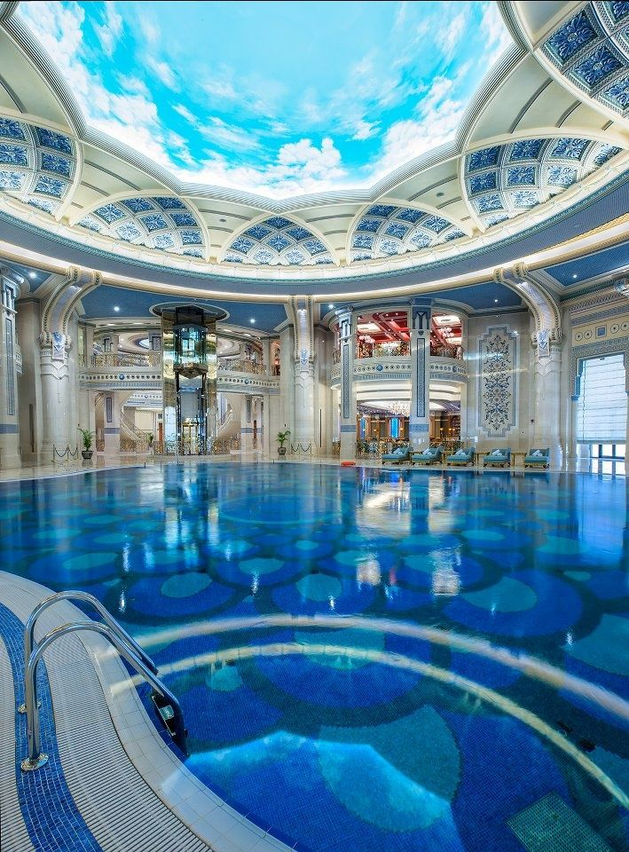 Pool at The Ritz-Carlton, Riyadh, Saud� Arabia