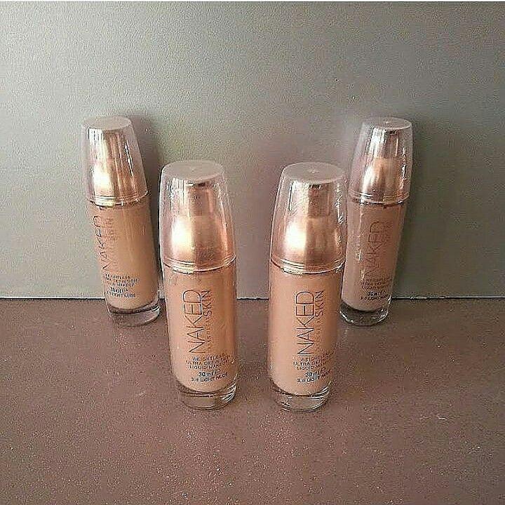 Naked skin fondoten = 20 tl  Whatsapp 05533238340