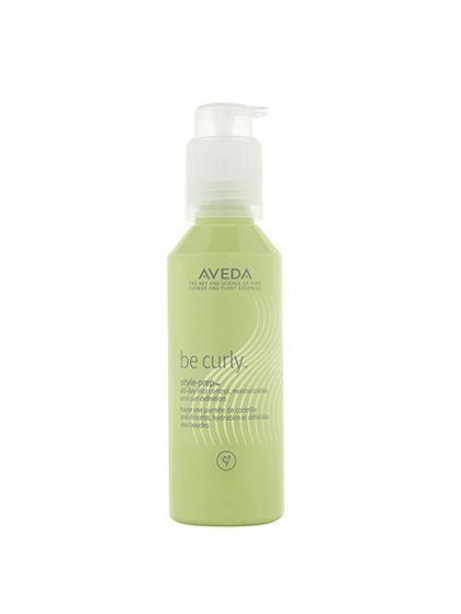 """Aveda Be Curly Style-Prep Style Prep works great on day-three curls because it adds extra moisture and hold. Aveda global artistic director for textured hair Tippi Shorter says that she likes to make a cocktail of this in a spray bottle, filling it one third of the way with this and two thirds of the way with water and adding a few drops of Aveda Dry Remedy Daily Moisturizing Oil. """"I spray [the mixture] on my hair when I need to refresh a few curls that have gone astray,"""" she says."""