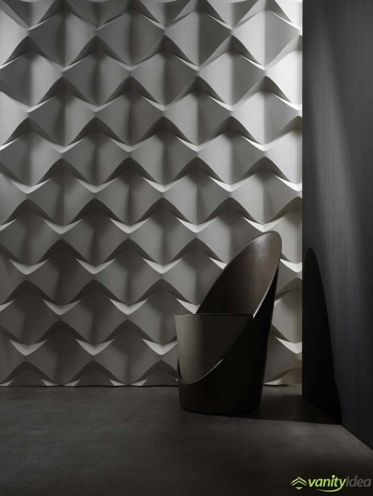 3D wall surfaces.