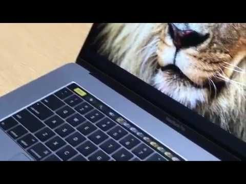 Apple Macbook Pro Touch Of Genius A Revolutionary New Way To Use