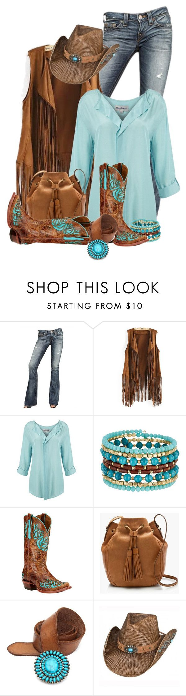 """Western Wear"" by flowerchild805 on Polyvore featuring True Religion, Mary Portas, Madison Parker, Ariat, J.Crew, Lucky Brand, women's clothing, women, female and woman"