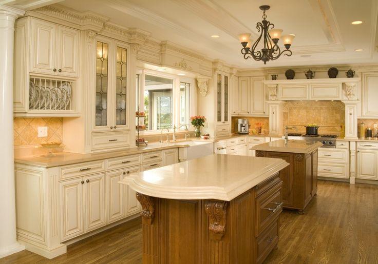 White Kitchen For The Home Pinterest White Kitchens Cabinets And Glaze