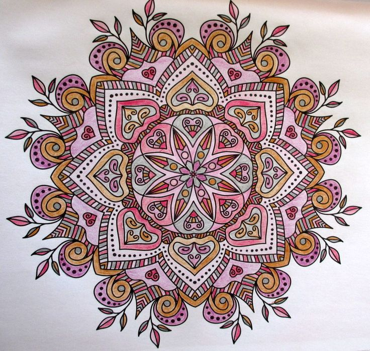 In 25 mandalas à colorier Simple Things magazine. LouisaR