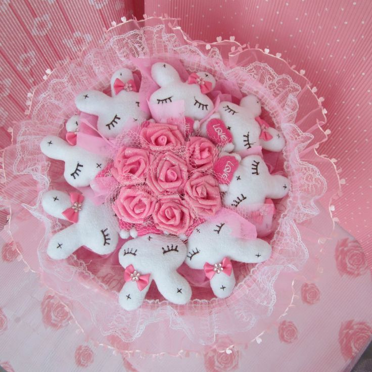 This could be the most unique, creative, lovely present for your girlfriends and wife or for small ladies or good present for new born girl.The handmade bouquet