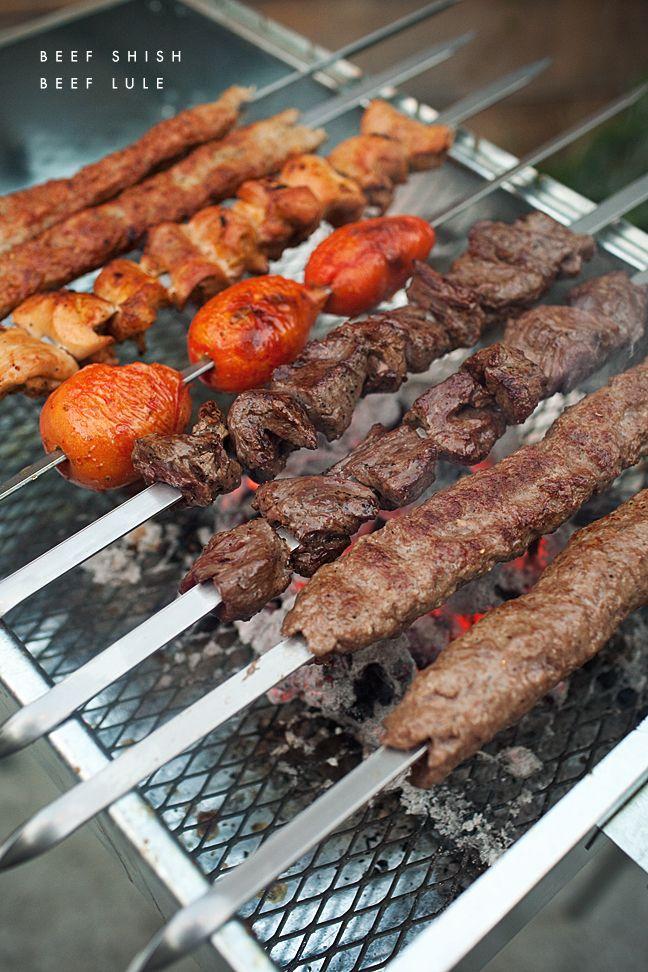 Armenian BBQ   Beef Shish + Lule Kebab, #armenianfood #summer #grilling