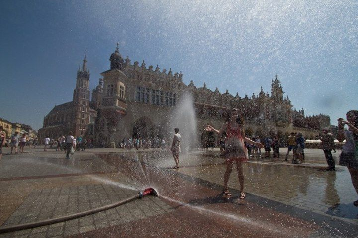 Hot summer in Kraków! Would you like to taste it?