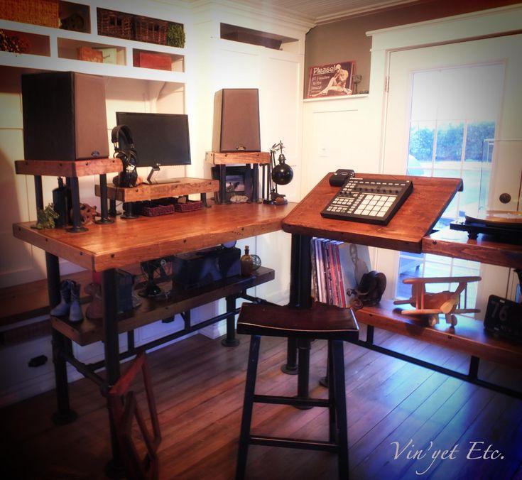 Industrial Desk reveal 2 | Vinyet Etc.