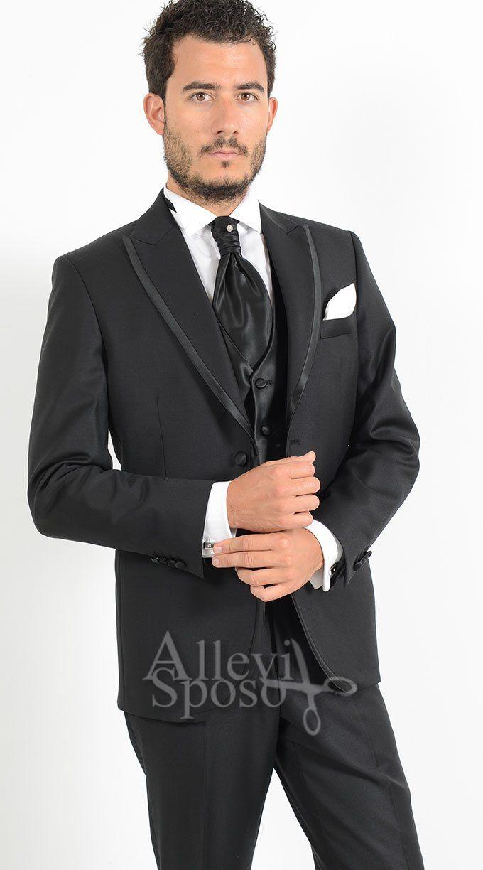 Abito Sposo Uomo Casual   Smoking rivisitato giacca bordata abito cerimonia  uomo con 121d31c3ea8