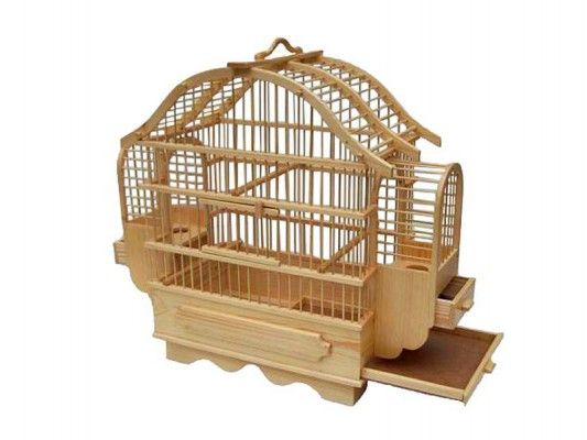 handmade wood bird cages 2
