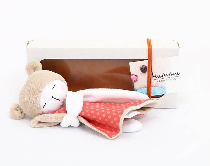 Sleepy Bear: Green / Bear Plush / Stuffed Toy Bear / Baby Toy / Teddy Plushie / Sleeping Buddy Bear