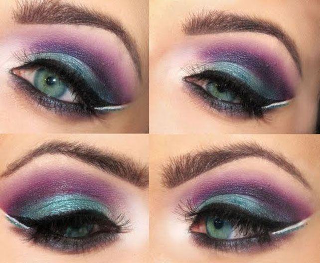 80s Inspiration Eye Makeup #eyeshadow #makeup