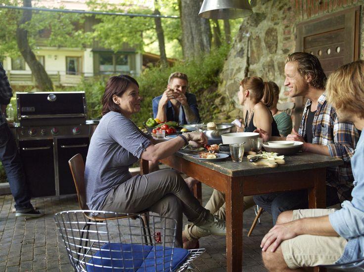 17 meilleures images propos de barbecues gaz en famille - Repas plancha entre amis ...