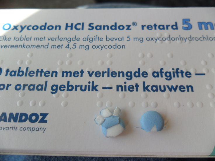 Zo komen pillen er ook wel eens uit de verpakking.