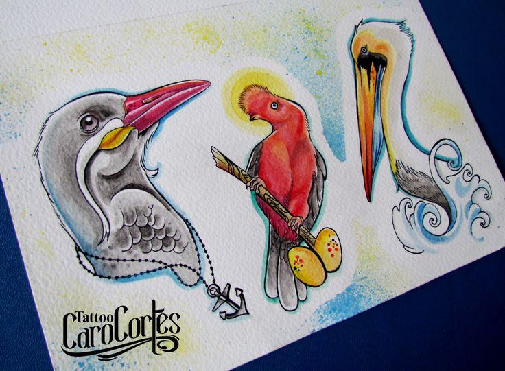 CARO CORTES WATERCOLOR Colombian tattoo artist. http://carocortes.tumblr.com/ http://www.carocortes.com/ #watercolor #tatuadora #acuarela #carocortes #tattoocarocortes