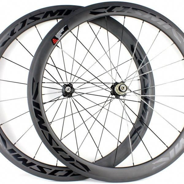 700c Depth 50mm Ud Black Matte Rim Glossy Stickers Road Bike
