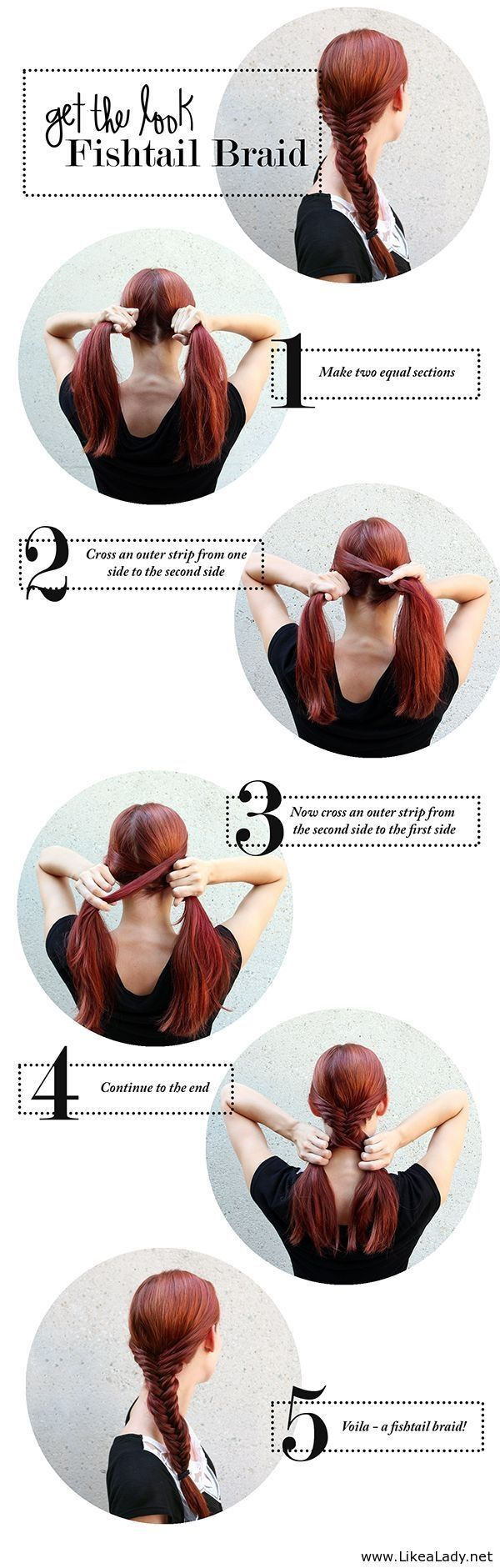 Get the look - Fishtail braid