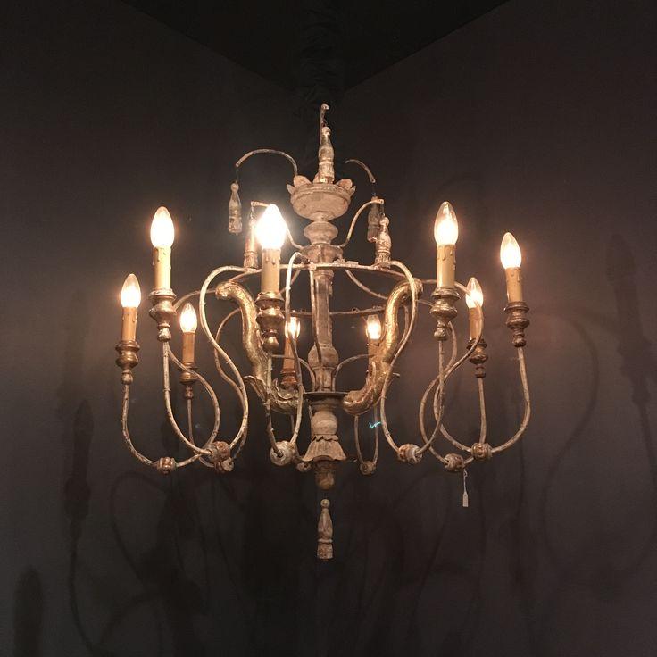 Chandelier, vintage, design, interior
