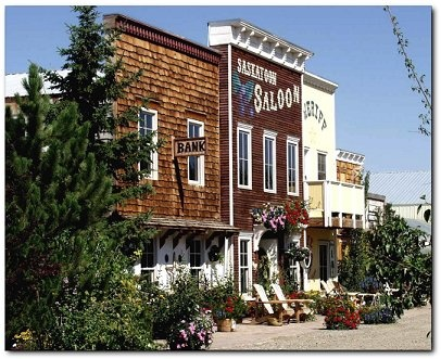 Saskatoon Farm! U-pick saskatoon berry farm, with plants & trees native to the area for purchase, a restaurant with lots of items on the menu that incorporate saskatoon berries and a large meandering gift shop full of home decor.