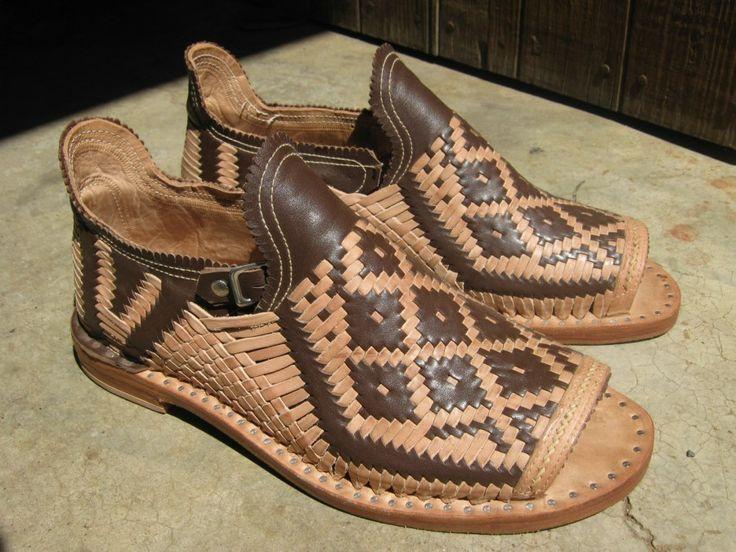 Shoes Women Textile Mexican Woven