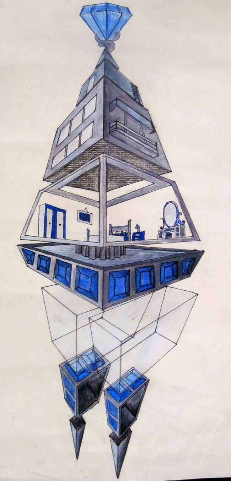 Space Museums- 2-3 Point Perspective Drawings        Isabella D      I first found this project by Ken Vieth in his book From Ordinary to...