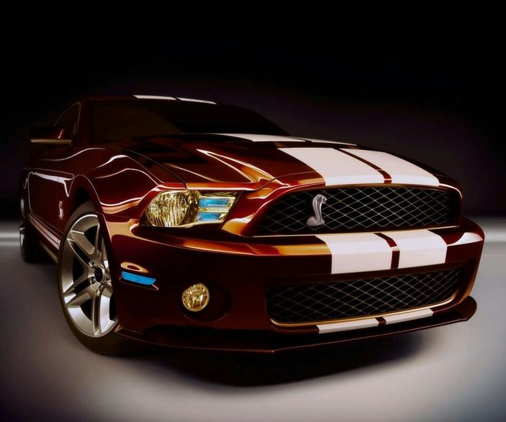 SUPER SNAKE SHELBY GT500. Pretty color!