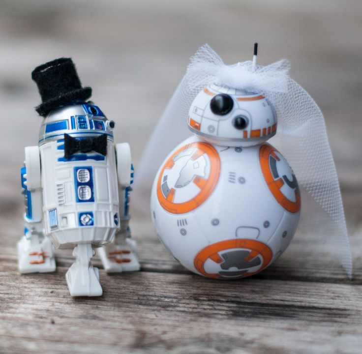 These are the droids you've been looking to make your big day complete.
