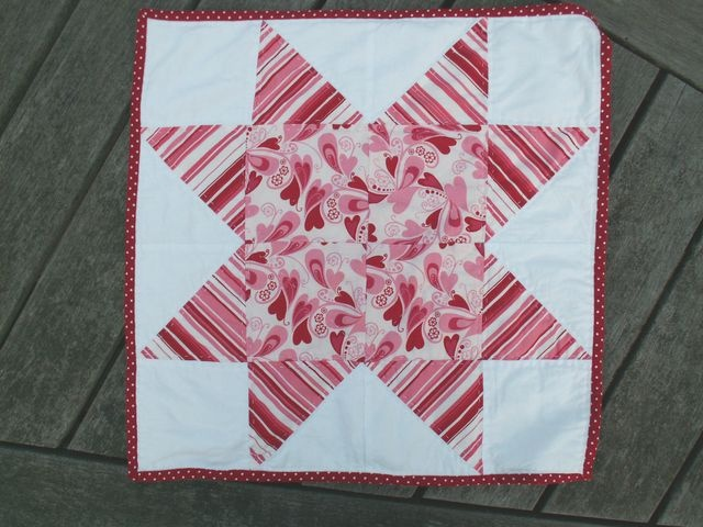 12 Little Quilt of Love #19 by Alphenquilts, via Flickr