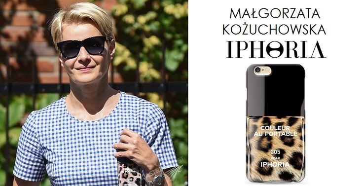 Małgorzata Kożuchowska wybrała etui na iPhone 6 ROAR marki IPHORIA z www.bag-a-porter.pl