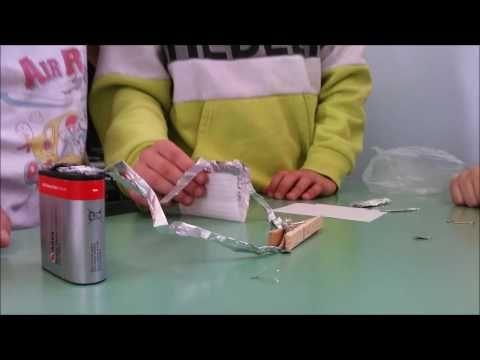 Κατασκευή ηλεκτρικού κυκλώματος με διακόπτη