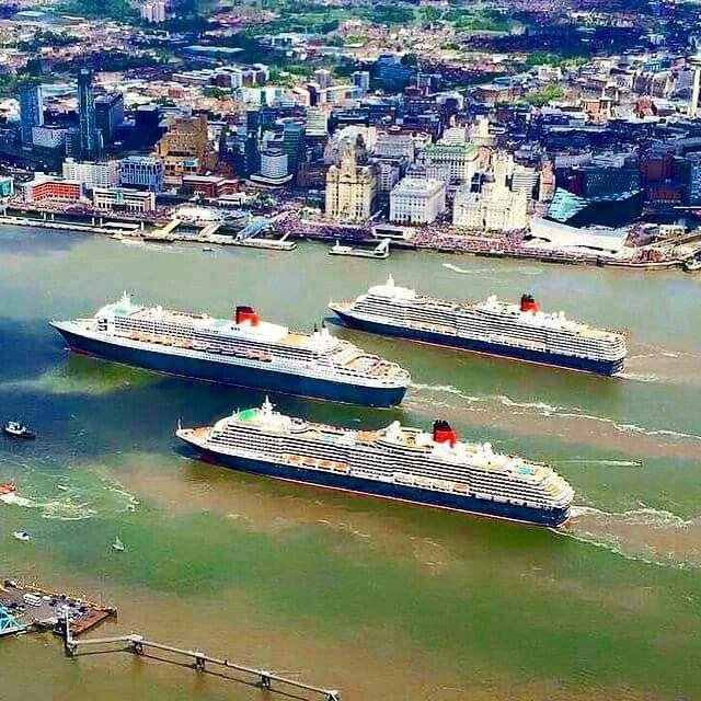 The 3 Queens visit Liverpool 25.05.15